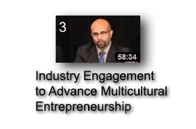 Industry Engagement to Advance Multicultural Entrepreneurship